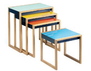 Josef Albers, Nesting Tables
