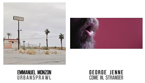 Emmanuel Monzon, Urban Sprawl / George Jenne, Come in, stranger | Privateview Gallery, via Goito 16, 10125 Torino